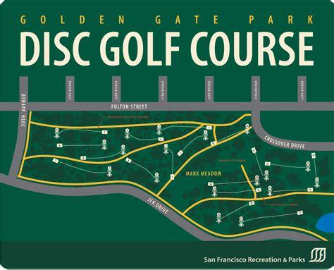 san francisco golf map golden gate park disc golf course map golden gate park