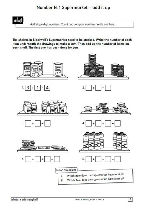 a selection of 15 functional maths worksheets from axis