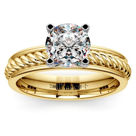 wedding rings types of ring settings solitaire ring