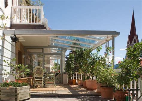 tettoia in vetro copertura in vetro pergole e tettoie da giardino