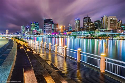 cool wallpaper melbourne download wallpaper southbank brisbane city australia