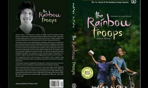Novel Bahasa Inggris The Best Of Roughing It laskar pelangi raih international best seller harian