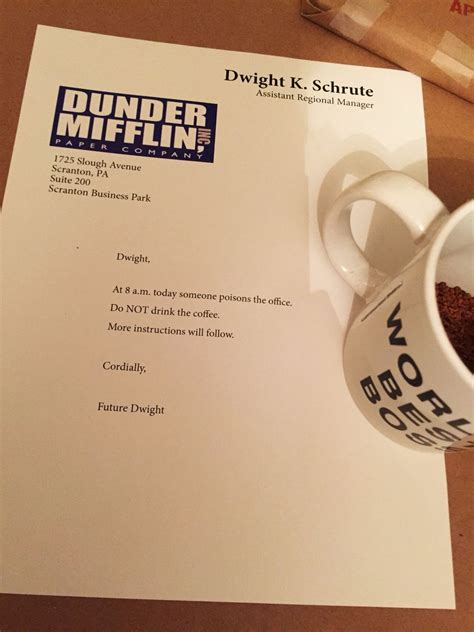 The Office Birthday Card Printable