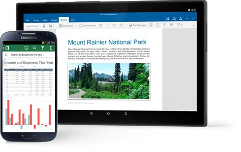 microsoft mobile office office mobile apps for android word excel powerpoint