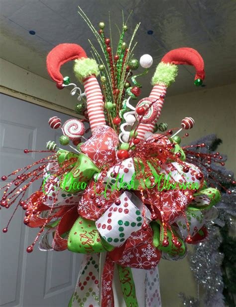 elf legs stuck in christmas tree check out this item in my etsy shop https www etsy listing 168784221 legs