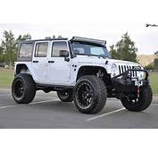 This 2014 Jeep Wrangler With Fuel Wheels And Tires Is A