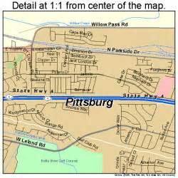 pittsburg california map 0657456