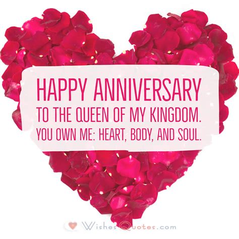 Wedding Anniversary Message To by Deepest Wedding Anniversary Messages For