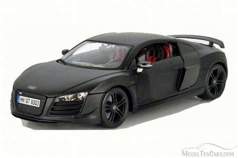 Audi R8 Spielzeugauto by Audi R8 Gt Matte Black Maisto 36190bk 1 18 Scale