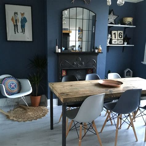 Darklue Living Room Furniture Ideas Navy Paint Chairs And by Best 25 Eames Dining Chair Ideas On Eames