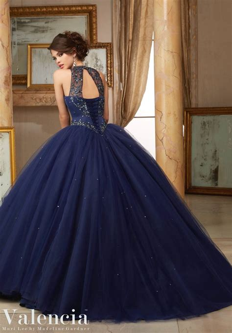 Dress Valencia Blue mori valencia quinceanera dress style 60008 590