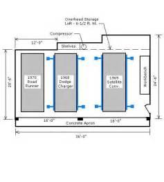 garage depth garage layout