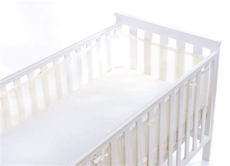 Crib Mattress Liner Breathable Baby Mesh Liner Pink Blue Or White Baby Cot Crib Bed Safety Ebay