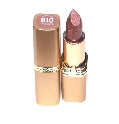 l oreal color riche lipstick l oreal colour riche lipstick sandstone 810 loreal