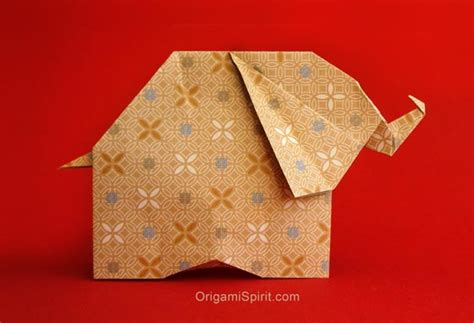 Ivory Origami Paper - how to make an origami elephant and help stop the ivory trade