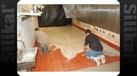 KFC   Overnight Over Tile Floor Coating   Silikal   YouTube