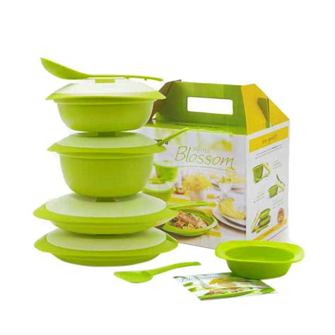 Set Tupperware jual tupperware blossom set harga