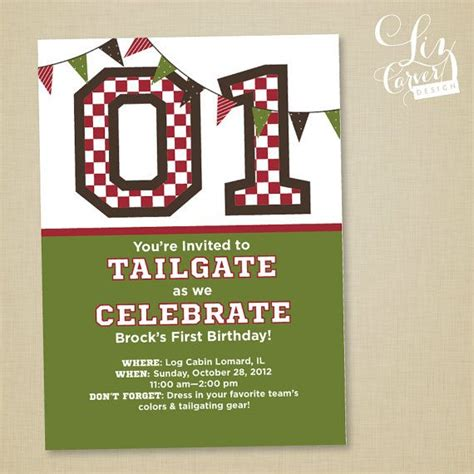 Come With Me Tailgate Ae Invites by 11 Best Images About Adk Program On Football