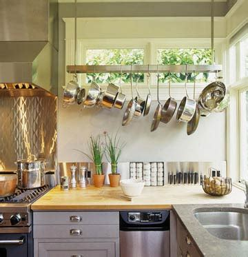 hanging for kitchen decor design pot rack ideas