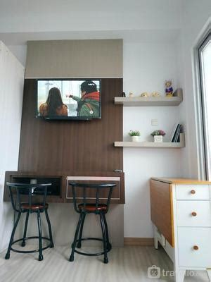 sewa skyview apartment medan newly furnished studio room