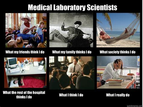 Lab Tech Meme - medical laboratory scientists what my friends think i do