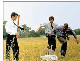 Office Space Destroying Printer Office Space On 90s 411 Excuse Me I Believe You My
