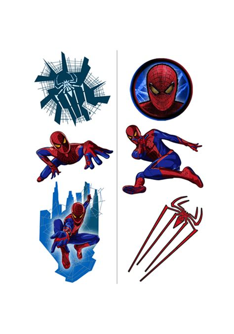 spiderman henna tattoo amazing spider temporary tattoos