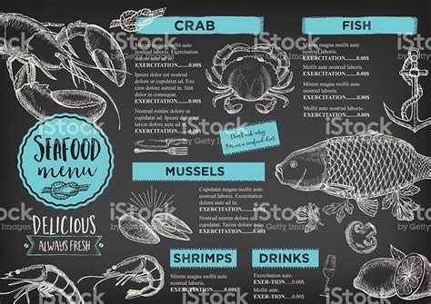 menu design history restaurant cafe menu template design stock vector art