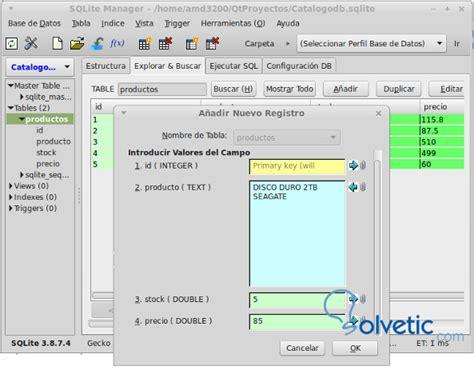qt tutorial sql programaci 243 n qt y bases de datos sqlite solvetic