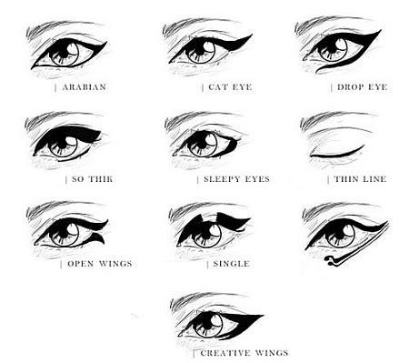 eyeliner types tutorial how to apply eyeliner pencil and liquid tutorial
