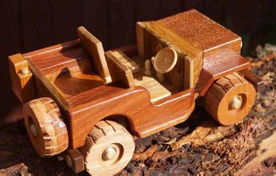 Wooden Jeep Toy Plans