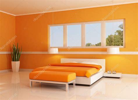 seni diversi modern orange bedroom stock photo 169 archideaphoto 4947154