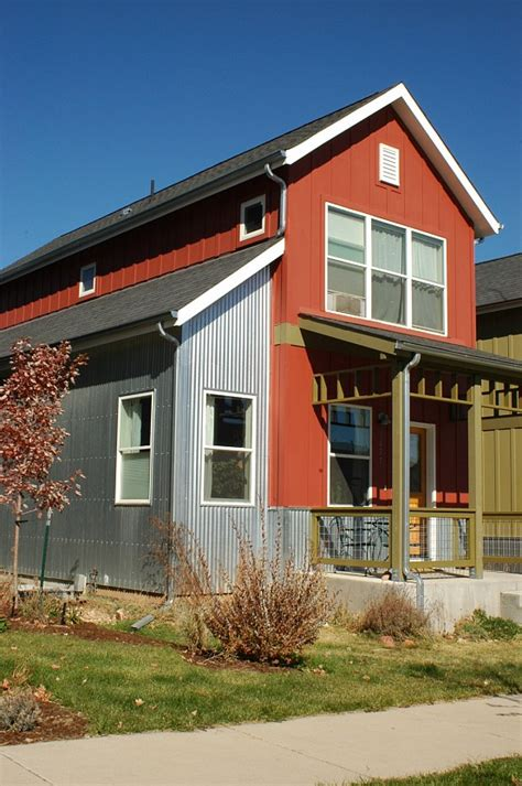 metal siding houses corrugated metal siding a modern accent corrugated metal popular mechanics and industrial