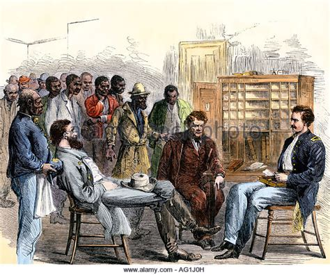 bureau naturalisation freedmens stock photos freedmens stock images alamy