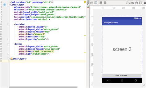 jenis layout pada android cara berpindah layout pada aplikasi android dengan fungsi