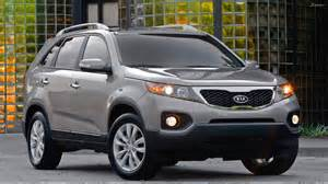 kia sorento 2011 in grey front pose wallpaper