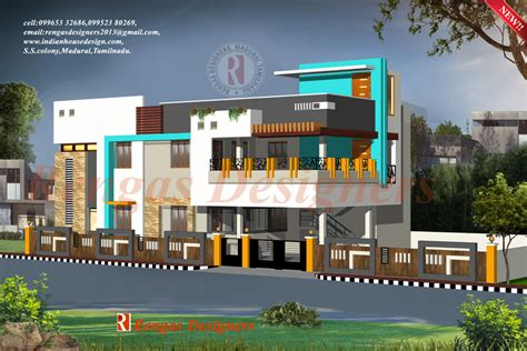 indian modern house elevation plans modern house