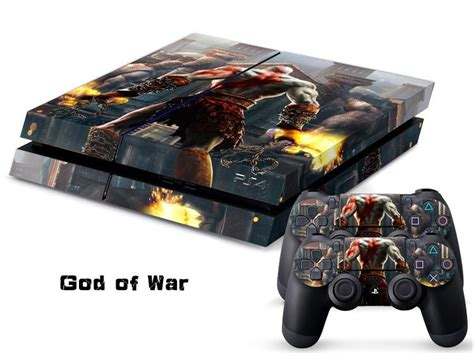 Ps4 Sticker God Of War by 2018 God Of War Decal Skin Protective Sticker For Sony Ps4