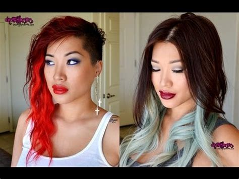 stripping hair color at home how to out bright hair dye plus my new hair