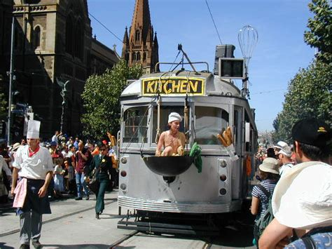 Trams Kitchen by The Flying Melbourne Tram Featured In The Opening Ceremony