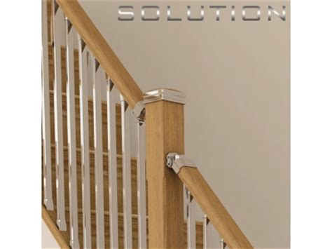 chrome banister solution stairparts chrome spindles oak staircase parts