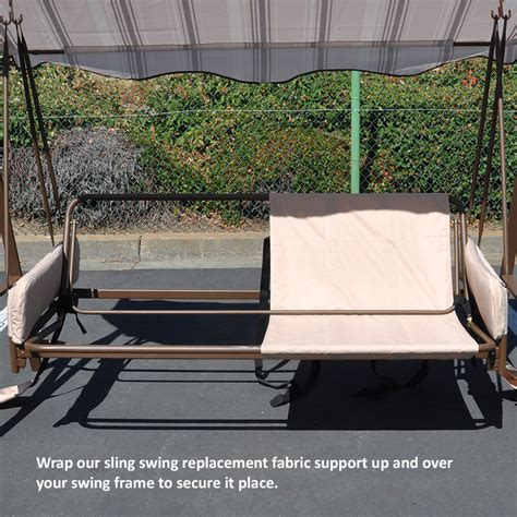 replacement sling for patio swing universal sling swing back support garden winds canada