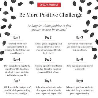 30 day positivity challenge les naly a career lifestyle website for les naly
