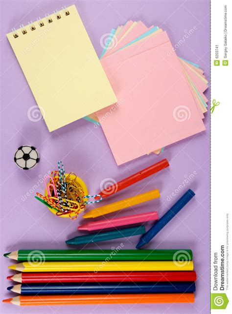 crayons that only write on paper crayons paper pencil stock image image of writing