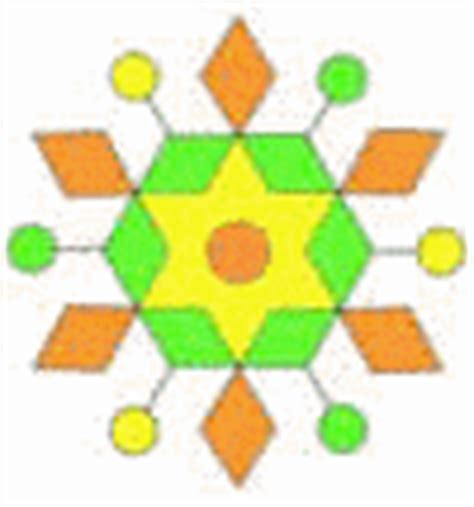 rangoli pattern using shapes rangoli designs
