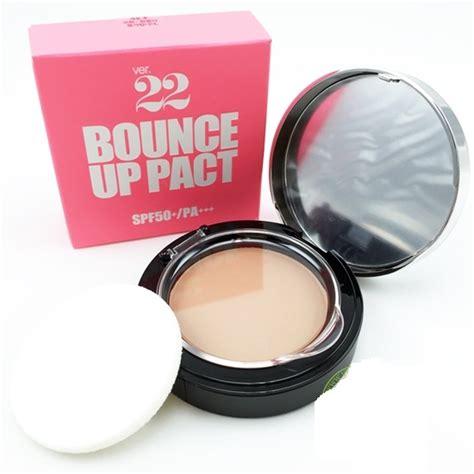 Bedak Di The Shop bedak ver 22 bounce up pact original korea grosir