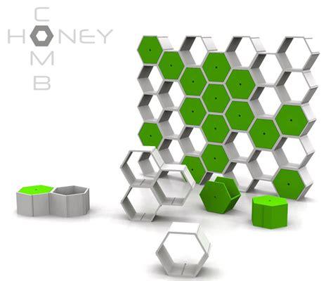 design concept hexagon honeycomb modular furniture system by nyadadesign tuvie