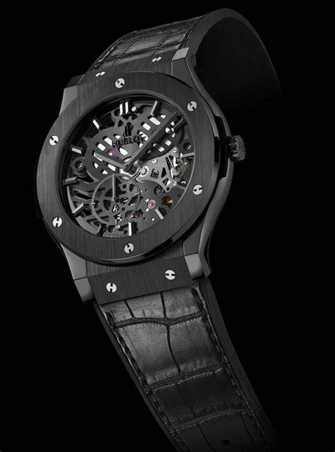 Roger Dubuis Horloger Skeleton Black 3 montres squelettes disponibles en 2013 world guide