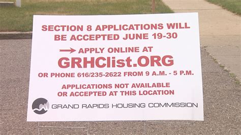 Section 8 Applicants by Grand Rapids Housing Commission Accepts Section 8