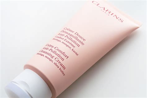 how to use clarins extra comfort cleansing cream new clarins extra comfort anti pollution cleansing cream